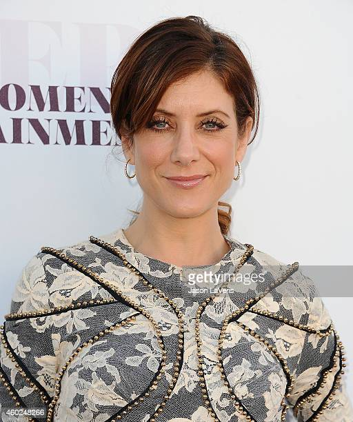 Actress Kate Walsh attends the Hollywood Reporter's Women In Entertainment breakfast at Milk Studios on December 10 2014 in Los Angeles California