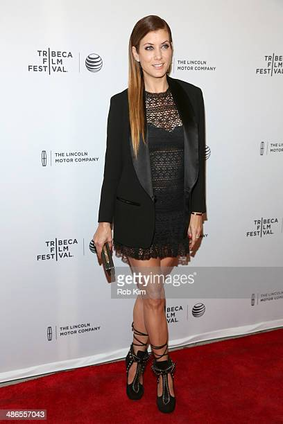 Actress Kate Walsh attends the Just Before I Go Premiere during the 2014 Tribeca Film Festival at the SVA Theater on April 24 2014 in New York City