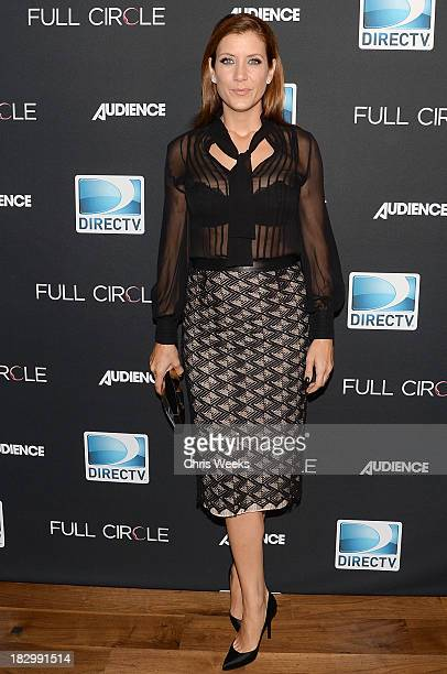 Actress Kate Walsh attends the launch of DIRECTV's newest original series Full Circle at Bagatelle on October 2 2013 in Los Angeles California