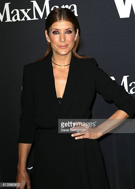 Actress Kate Walsh attends the Ninth Annual Women In Film PreOscar Cocktail Party Presented By Max Mara BMW MAC Cosmetics And PerrierJouet at HYDE...