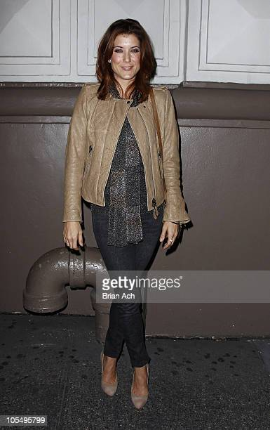 Actress Kate Walsh attends the opening night of A Life in the Theatre at The Schoenfeld Theatre on October 12 2010 in New York City