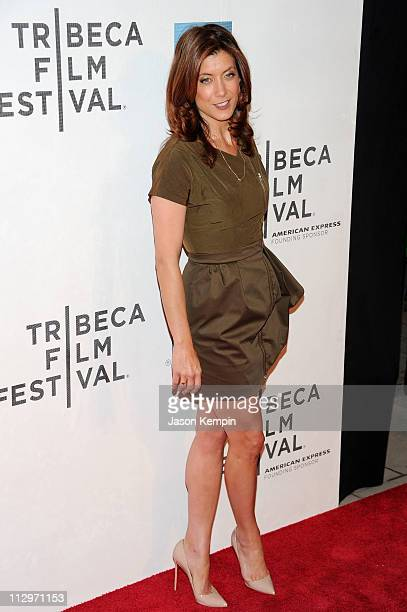 Actress Kate Walsh attends the premiere of Angel's Crest during the 2011 Tribeca Film Festival at BMCC Tribeca PAC on April 22 2011 in New York City