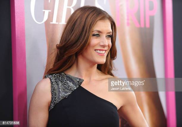 Actress Kate Walsh attends the premiere of Girls Trip at Regal LA Live Stadium 14 on July 13 2017 in Los Angeles California