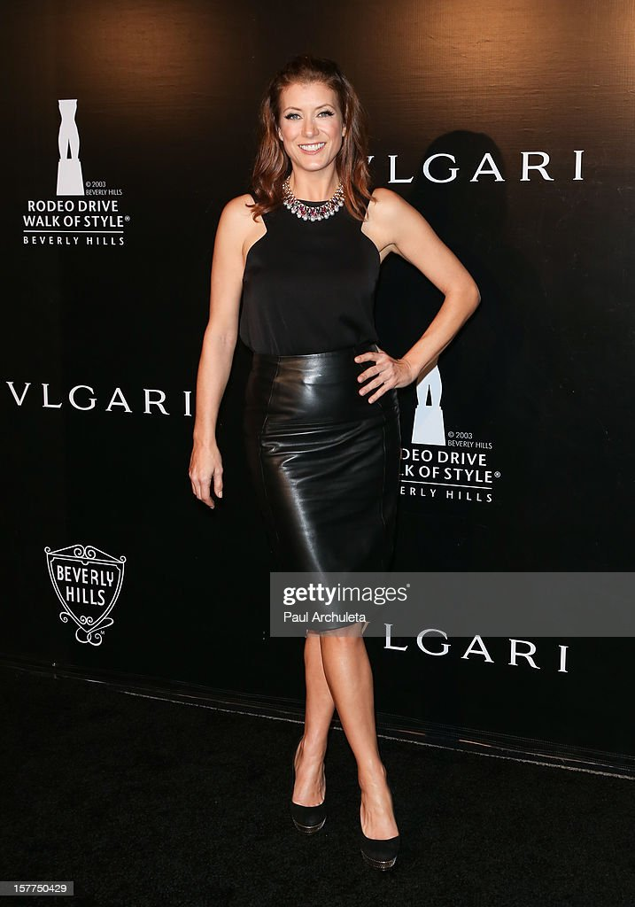 Actress Kate Walsh attends the Rodeo Drive Walk of Style honoring BVLGARI on December 5, 2012 in Beverly Hills, California.