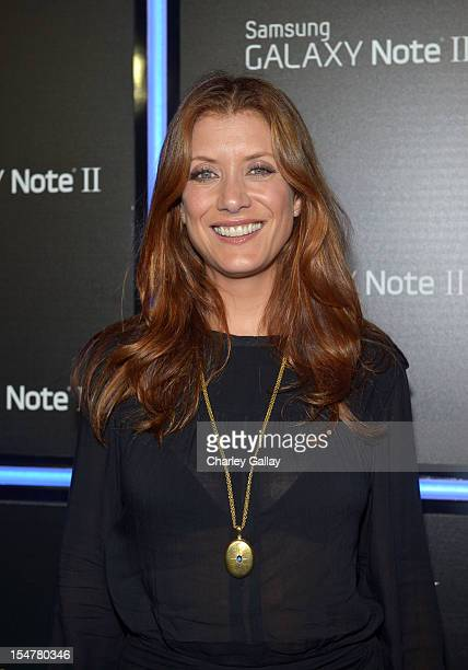 Actress Kate Walsh attends the Samsung Galaxy Note II Beverly Hills Launch Party on October 25 2012 in Los Angeles California