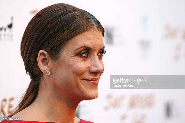 Actress Kate Walsh attends the screening of Anchor Bay Entertainment's 'Just Before I Go' at ArcLight Hollywood on April 20 2015 in Hollywood...