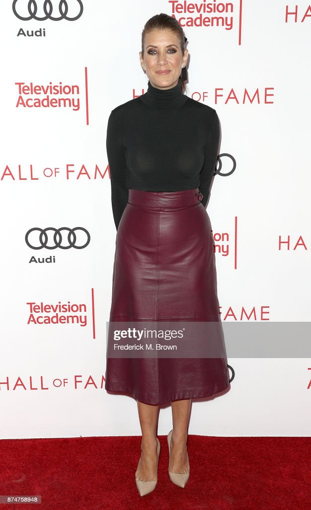Actress Kate Walsh attends the Television Academy's 24th Hall of Fame Ceremony at the Saban Media Center on November 15, 2017 in North Hollywood, California.