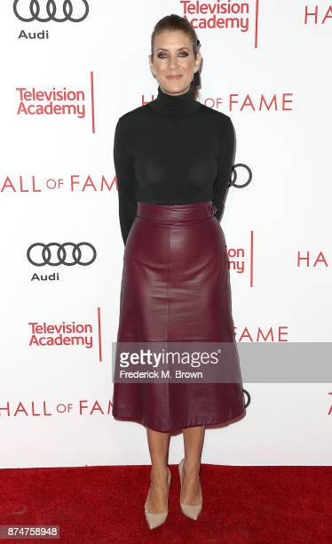 Actress Kate Walsh attends the Television Academy's 24th Hall of Fame Ceremony at the Saban Media Center on November 15 2017 in North Hollywood...