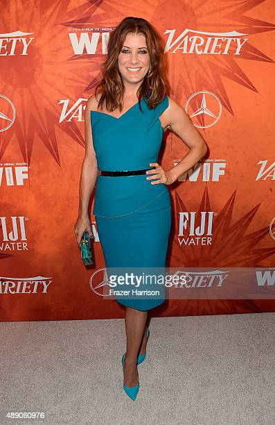 Actress Kate Walsh attends the Variety and Women in Film Annual PreEmmy Celebration at Gracias Madre on September 18 2015 in West Hollywood California