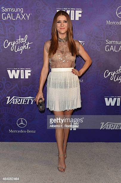Actress Kate Walsh attends Variety and Women in Film Emmy Nominee Celebration powered by Samsung Galaxy on August 23 2014 in West Hollywood California