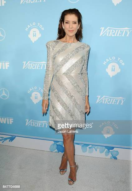 Actress Kate Walsh attends Variety and Women In Film's 2017 preEmmy celebration at Gracias Madre on September 15 2017 in West Hollywood California