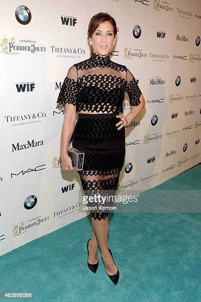 Actress Kate Walsh attends Women In Film PreOscar Cocktail Party presented by MaxMara BMW Tiffany Co MAC Cosmetics and PerrierJouet at Hyde Sunset...