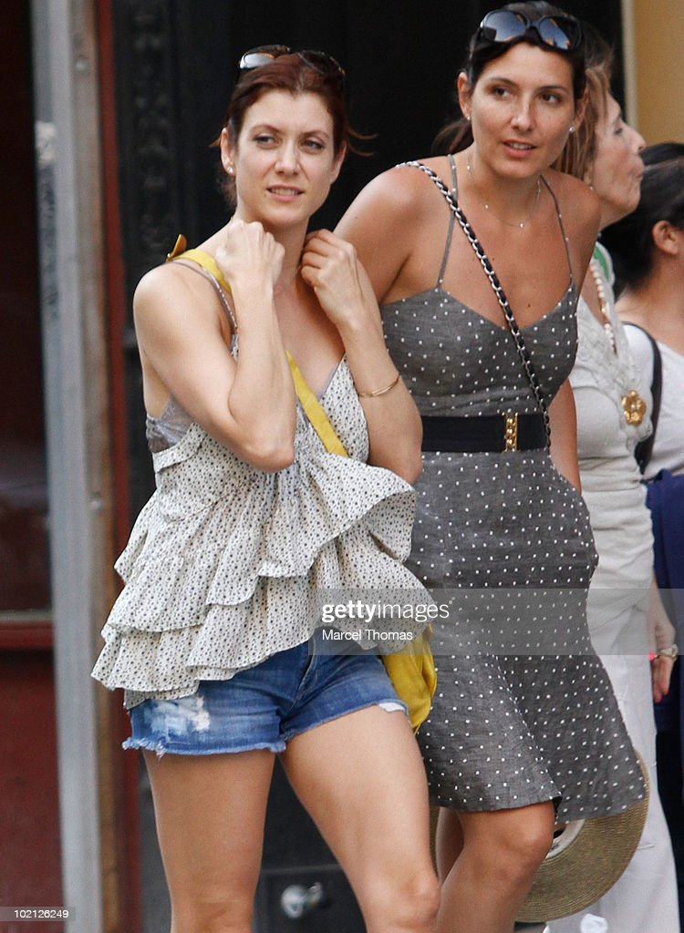 Actress Kate Walsh sighting in the West Village on June 15, 2010 in New York, New York.
