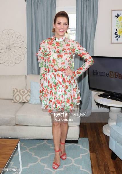 Actress Kate Walsh visits Hallmark's 'Home Family' at Universal Studios Hollywood on May 16 2018 in Universal City California