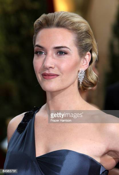 Actress Kate Winslet arrives at the 81st Annual Academy Awards held at Kodak Theatre on February 22 2009 in Los Angeles California