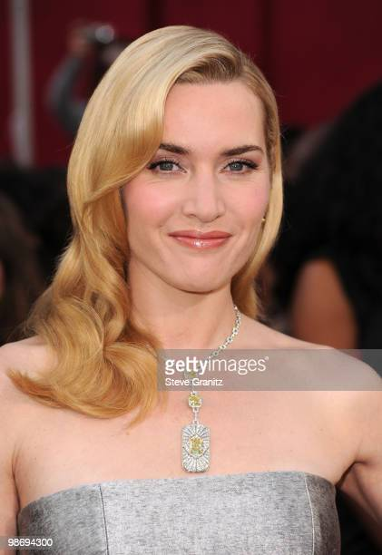 Actress Kate Winslet arrives at the 82nd Annual Academy Awards held at the Kodak Theatre on March 7 2010 in Hollywood California