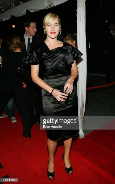 """Actress Kate Winslet arrives at the Toronto International Film Festival gala presentation of the film """"All The King's Men"""" held at the Roy Thomson..."""