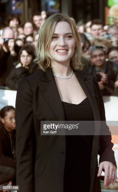 Actress Kate Winslet at tha Bafta Awards the British Oscars at the Odeon Leicester Square