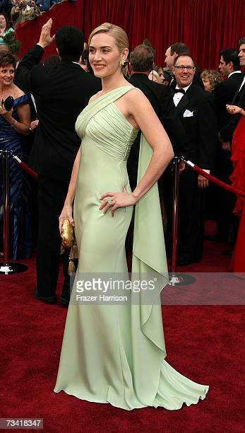 Actress Kate Winslet attend the 79th Annual Academy Awards held at the Kodak Theatre on February 25 2007 in Hollywood California
