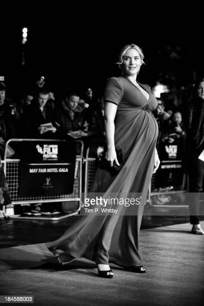Actress Kate Winslet attends a screening of 'Labor Day' during the 57th BFI London Film Festival at Odeon Leicester Square on October 13 2013 in...