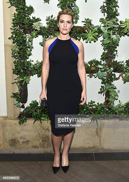 Actress Kate Winslet attends the 22nd Annual ELLE Women in Hollywood Awards presented by Calvin Klein Collection L'Oréal Paris and David Yurman at...