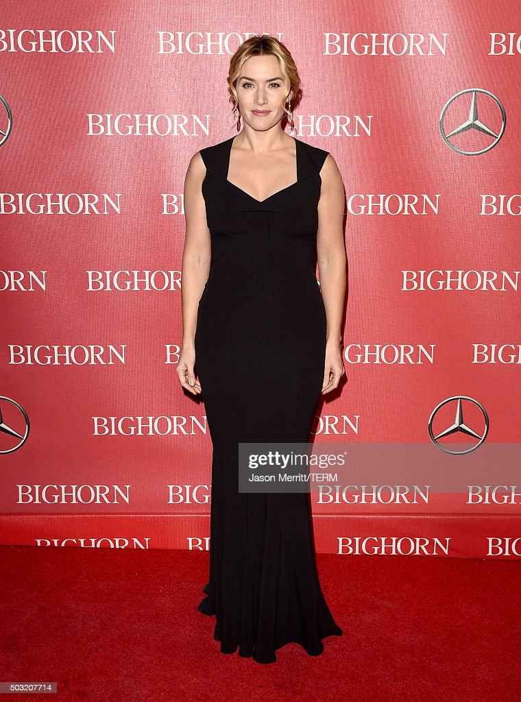 Actress Kate Winslet attends the 27th Annual Palm Springs International Film Festival Awards Gala at Palm Springs Convention Center on January 2, 2016 in Palm Springs, California.