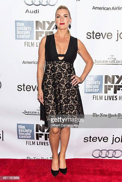 Actress Kate Winslet attends the 53rd New York Film Festival 'Steve Jobs' at Alice Tully Hall Lincoln Center on October 3 2015 in New York City