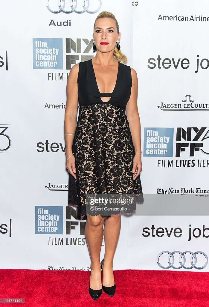 Actress Kate Winslet attends the 53rd New York Film Festival - 'Steve Jobs' at Alice Tully Hall, Lincoln Center on October 3, 2015 in New York City.