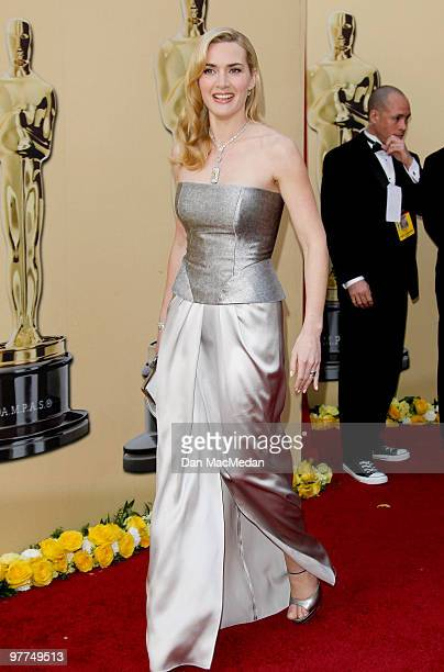 Actress Kate Winslet attends the 82nd Annual Academy Awards held at the Kodak Theater on March 7 2010 in Hollywood California