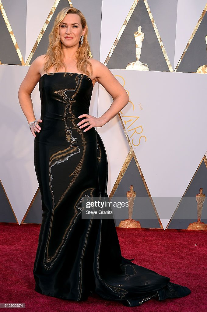 Actress Kate Winslet attends the 88th Annual Academy Awards at Hollywood & Highland Center on February 28, 2016 in Hollywood, California.