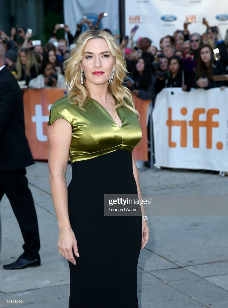 Actress Kate Winslet attends the 'A Little Chaos' premiere during the 2014 Toronto International Film Festival at Roy Thomson Hall on September 13, 2014 in Toronto, Canada.