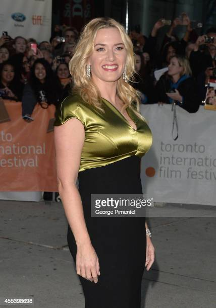 """Actress Kate Winslet attends the """"A Little Chaos"""" premiere during the 2014 Toronto International Film Festival at Roy Thomson Hall on September 13,..."""
