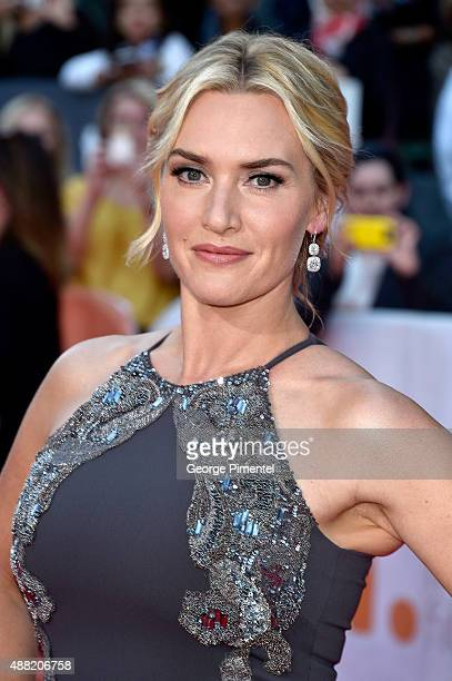 Actress Kate Winslet attends 'The Dressmaker' premiere during the 2015 Toronto International Film Festival at Roy Thomson Hall on September 14 2015...