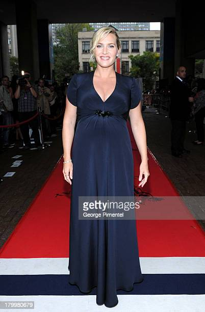 """Actress Kate Winslet attends the """"Labor Day"""" premiere during the 2013 Toronto International Film Festival at Ryerson Theatre on September 7, 2013 in..."""