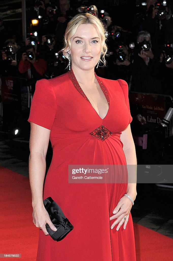 Actress Kate Winslet attends the Mayfair Gala European Premiere of 'Labor Day' during the 57th BFI London Film Festival at Odeon Leicester Square on October 14, 2013 in London, England.