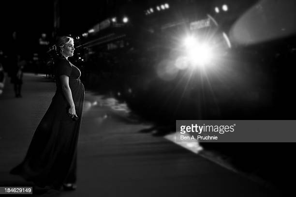 Actress Kate Winslet attends the Mayfair Gala European Premiere of 'Labor Day' during the 57th BFI London Film Festival at on October 14 2013 in...