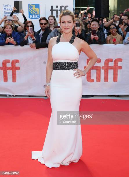 Actress Kate Winslet attends the premiere of 'The Mountain Between Us' during the 2017 Toronto International Film Festival at Roy Thomson Hall on...