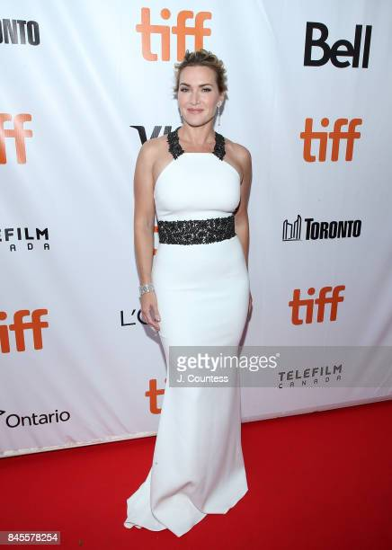 Actress Kate Winslet attends the premiere of The Mountain Between Us during the 2017 Toronto International Film Festival at Roy Thomson Hall on...