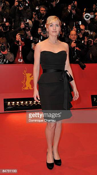 Actress Kate Winslet attends The Reader premiere during the 59th Berlin International Film Festival at the Berlinale Palast on February 6 2009 in...
