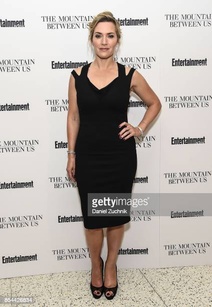 Actress Kate Winslet attends the special screening of 'The Mountain Between Us' at Time Inc Screening Room on September 26 2017 in New York City