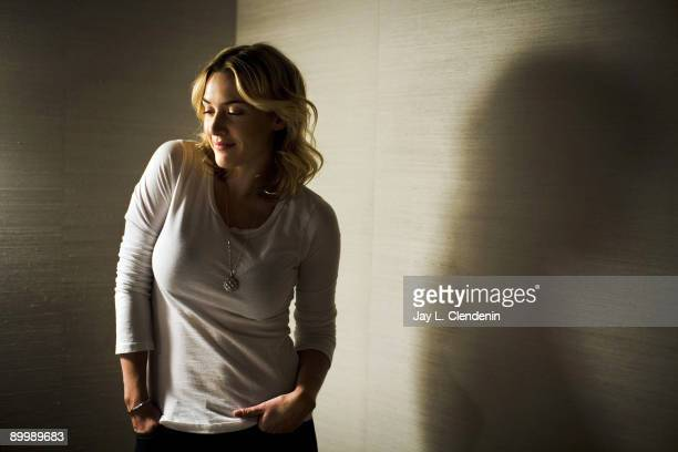 Actress Kate Winslet is photographed at the Greenwich Hotel in New York City Jan 16 2009 for the Los Angeles Times PUBLISHED IMAGE