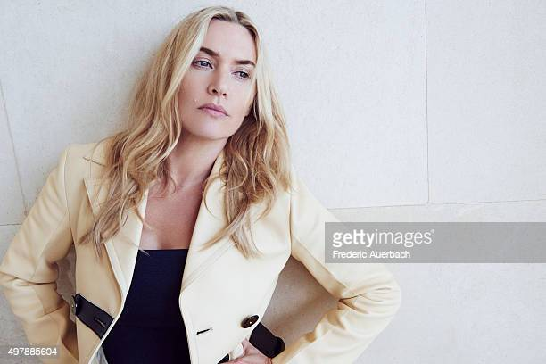 Actress Kate Winslet is photographed for Los Angeles Confidential on September 17 2015 in Los Angeles California