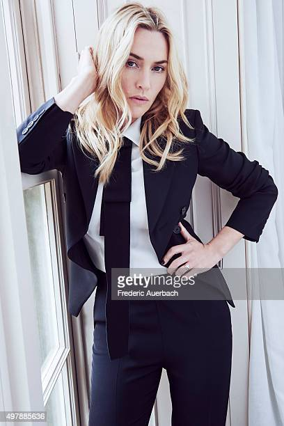 Actress Kate Winslet is photographed for Los Angeles Confidential on September 17 2015 in Los Angeles California COVER IMAGE