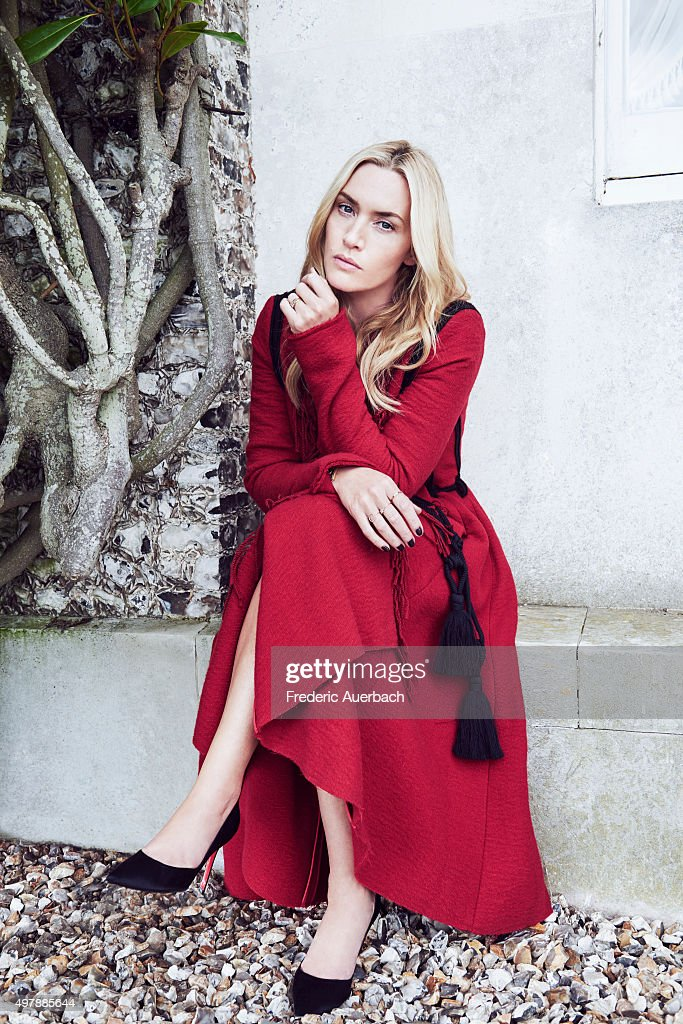 Kate Winslet, Los Angeles Confidential, November 1, 2015