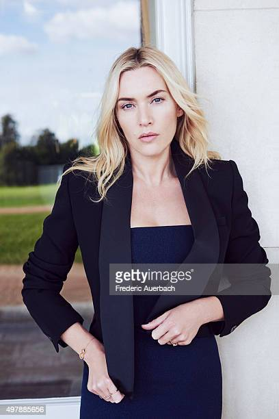 Actress Kate Winslet is photographed for Los Angeles Confidential on September 17 2015 in Los Angeles California PUBLISHED IMAGE