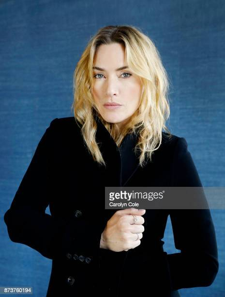 Actress Kate Winslet is photographed for Los Angeles Times on October 14 2017 in New York City PUBLISHED IMAGE CREDIT MUST READ Carolyn Cole/Los...