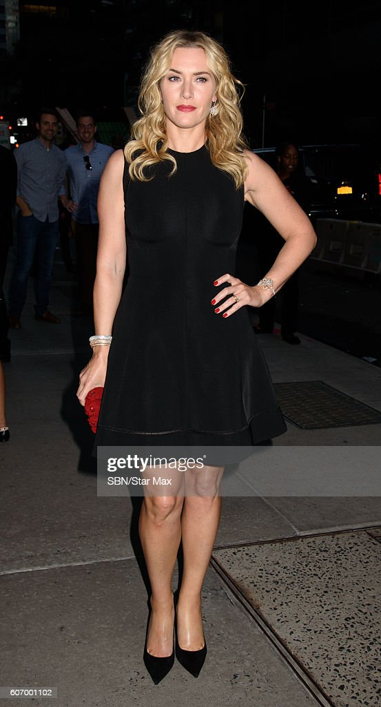 Celebrity Sightings In New York City - September 16, 2015 : News Photo