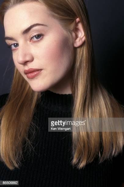 Actress Kate Winslet poses for a portrait in 1996 in New York City New York