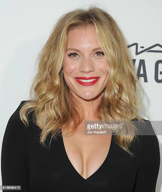 Actress Katee Sackhoff arrives at amfAR's Inspiration Gala Los Angeles at Milk Studios on October 27 2016 in Hollywood California