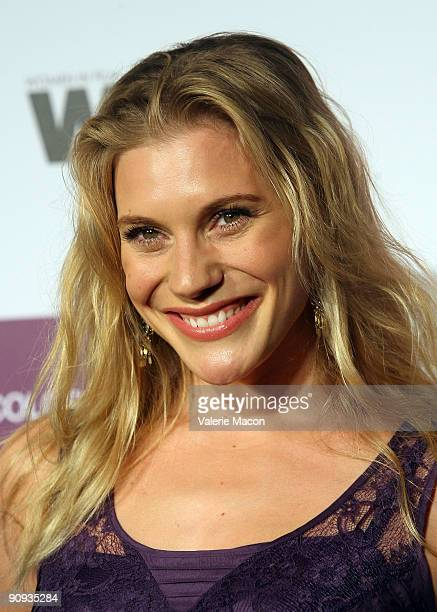 Actress Katee Sackhoff arrives at the Entertainment Weekly And Women In Film's PreEmmy Party on September 17 2009 in Los Angeles California